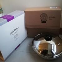Saladmaster 5 QT Wok 316ti Titanium Stainless & Lid Waterless Cookware