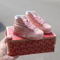 Sepatu boot vans sk8 Peach rose gold sepatu anak perempuan