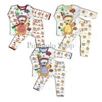 (6-12 bulan) Piyama/Baju Tidur Bayi Unisex Laki Perempuan Cowok Cewek