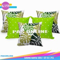 Sarung Bantal Sofa 5 pcs 50 x 50