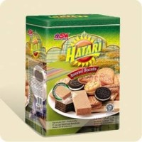 Biskuit Biscuit Kue Kaleng Lebaran Hatari kotak 750 gr Murah