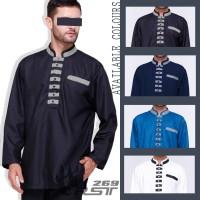 Baju Koko Pria Akhtar Lengan Panjang terbaru