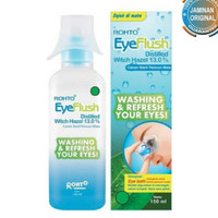 rohto eyeflush eye flush 150 ml pencuci mata