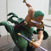 One Piece Roronoa Zoro Action Figure PVC Pop Model anime 18cm