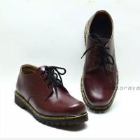 Sepatu Boots Docmart 3 Hole Pria Wanita Laki-laki Perempuan Casual