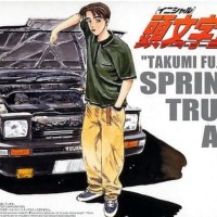 Aoshima 1/24 Takumi fujiwara sprinter trueno AE86 Initial D New