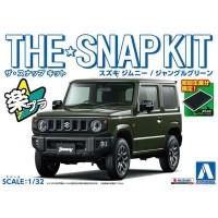 Aoshima SNAP KIT Suzuki Jimny Jungle Green New Toys