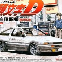 Aoshima 1/32 Initial D Fujiwara Takumi Toyota AE86 TRUENO New