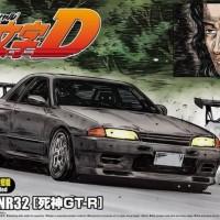 Aoshima 1/24 Initial D Hojo Rin BNR32 Grim Reaper GT-R DKB
