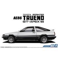Aoshima 1/24 Initial D Toyota AE86 Sprinter Trueno Baru Toys