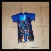 baju renang anak transformer - 4-5 tahun, Biru BERMUTU