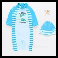 SW1914 - Setelan Baju Celana Renang Swimsuit Anak Bayi Balita Cowok