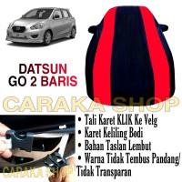Body Cover DATSUN GO 2 BARIS Sarung Mobil PREMIUM 2 Baris Waterproof