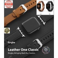 Strap Apple Watch 42MM/44MM seri 1 2 3 4 5 Ringke Leather one Classic