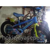 Sepeda Anak BMX 18 MAZARA 2255 SERI ROBOCAR POLI Ban jumbo 3.0 MUSIC
