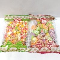 Permen Jelly Lunak 400g / Jelly Candy Assorted Sandwich and Roll 400g