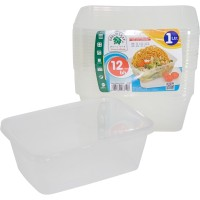 GREEN LEAF TEMPAT MAKAN DISPOSABLE 1000 ML / BOX MAKAN TAKE AWAY