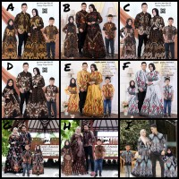 Baju copel keluarga Couple batik keluarga couple batik anak #2