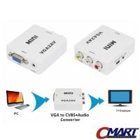 VGA to AV RCA converter PC to TV Konverter Tabung - CON-AVVGFAD3RCAF