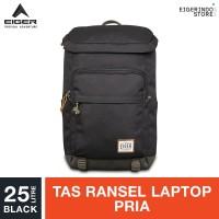 Eiger 1989 Tourer Wander Laptop Backpack 25L - Black