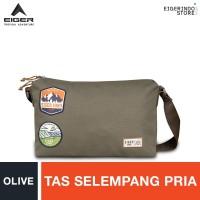 Eiger 1989 Pathway Shoulder Bag - Olive S