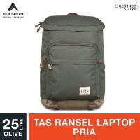 Eiger 1989 Tourer Wander Laptop Backpack 25L - Olive