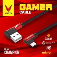 VYATTA GAMER MICRO USB CABLE - FAST CHARGE GARANSI 12 BULAN
