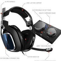 ASTRO Gaming A40 TR Wired Headset + MixAmp Pro TR Dolby Audio PS4 PC