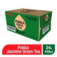 Pokka Jasmine Green Tea 450 ML ( 1 Ctn - 24 Pcs )