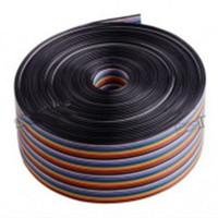 rainbow cable kabel pelangi pita 40p 40 pin 40pin p per meter
