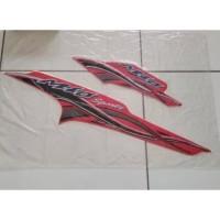 Striping atau stiker yamaha Mio sporty 2005 merah