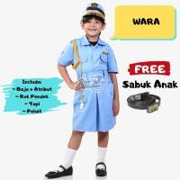 BAJU PROFESI ANAK - SERAGAM PROFESI ANAK TNI AU PUTRI - WARA