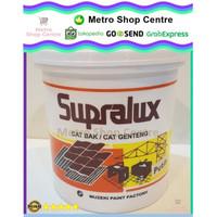 Supralux - Cat Bak / Genteng / Kolam Warna Putih (White) 1 Kg (Kaleng)