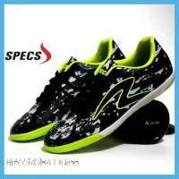 Sale Sepatu Futsal Pria Specs Barricada Ultima Hitam Hijau