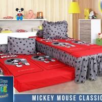 Sprei Sorong 2 in 1 California uk 120x200 Mickey Mouse Classic