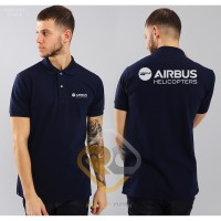 POLO SHIRT LOGO West AIRBUS HELICOPTERS - ROFFICO CLOTH