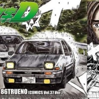 Aoshima 1/24 Initial D Fujiwara Takumi AE86 Trueno Volume 37 Kece