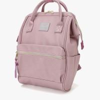 Tas Ransel Kecil - anello - RETRO Kuchigane Backpack Small - Lavender