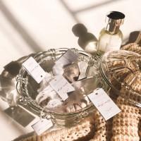 Wam Hugs-AMATE Premium Artisan Cotton Tea Bag Green Tea Blend Teablend