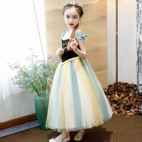 Ready baju anak perempuan/dress princess ana frozen Terlaris