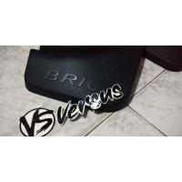 Mud Guard/Karpet Penahan Lumpur Carbon Honda All New Brio Satya