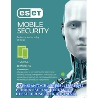 Antivirus Android Eset Mobile Security - 1 Devices 1 Tahun (Renewal)