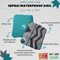 Seprai Waterproof Airu King Size 180 x 200 | seprai anti ompol