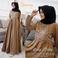baju gamis broklat wanita terbaru tifany maxy good quality