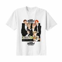 Kaos Baju Tshirt Kpop Korea Anak NCT DREAM 02 Combed 20s Putih