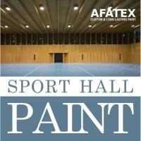 Cat Lantai Lapangan Olahraga (Sport Court Flooring Paint) Afatex -1 Kg