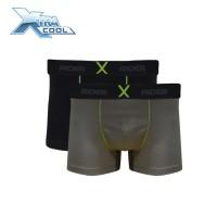Rider Xtracool R880B Celana Dalam Pria Boxer Isi 2 Pcs