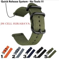 Tali Jam Strap Asus Zenwatch 2 w1502q (BUKAN WI501Q) - Bahan Nylon - Varian 1
