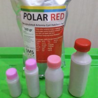 Artemia Polar Red/Tanpa Cangkang/Shell Free
