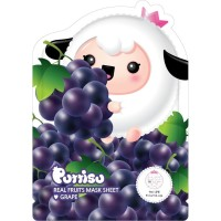 Puttisu Masker Wajah Anak - Real Fruits Sheet Mask Grape